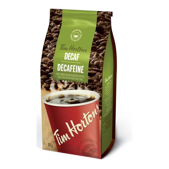 Tim Hortons Decaf Coffee - 300g