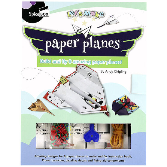Spicebox Let's Make - Paper Planes