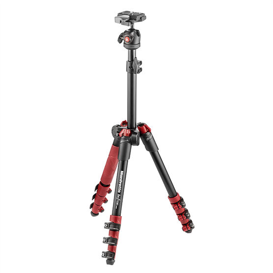 Manfrotto BeFree One Tripod - Red - MKBF1A4RBH