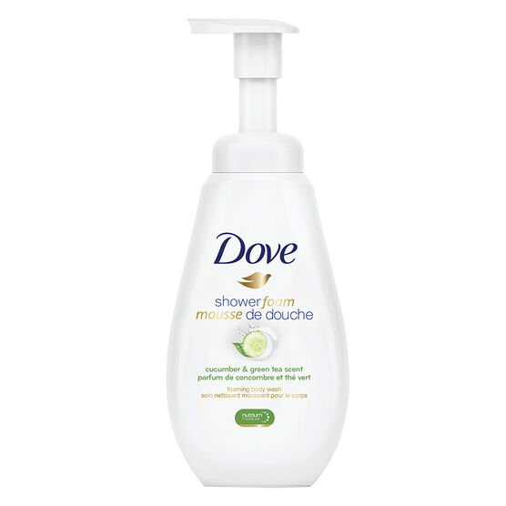Dove Shower Foam Body Wash - Cucumber & Green Tea - 400ml