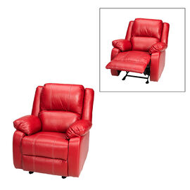 London Drugs Rocker Recliner Chair - Red