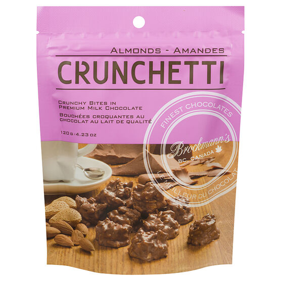 Crunchetti Milk Chocolate Almond Clusters - 120g