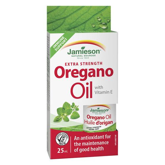 Jamieson Oregano Oil with Vitamin E - Extra Strength - 25ml