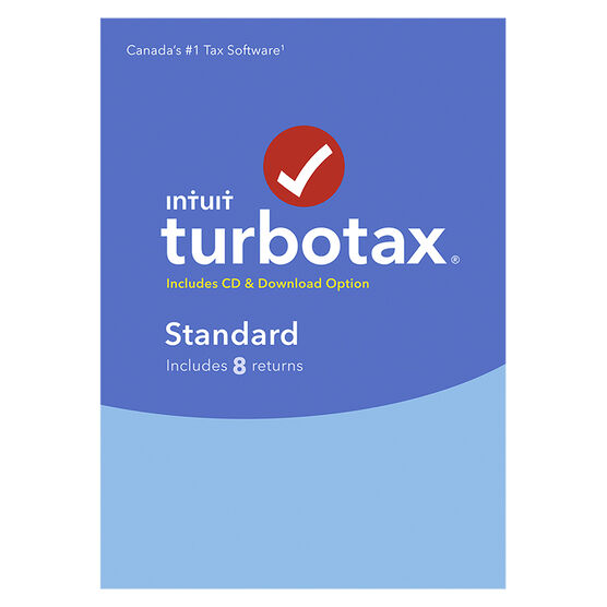 Intuit TurboTax Standard 2017 - 8 Returns