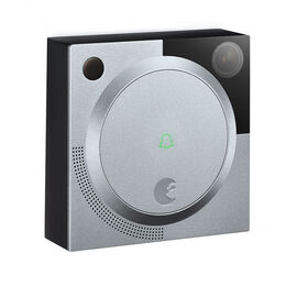 August Doorbell With Camera - Silver - AUG-AB01-M0