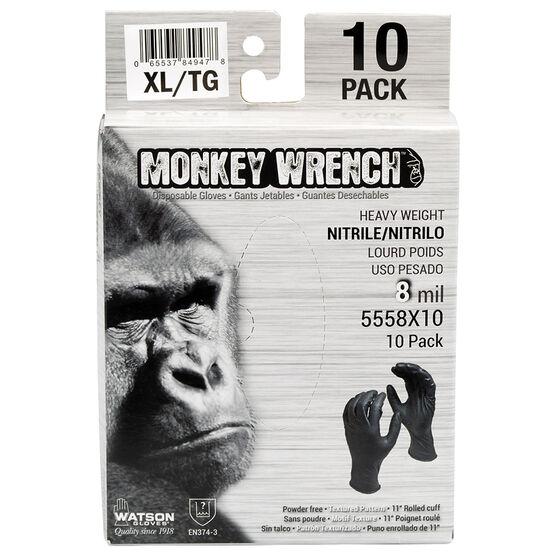Watson Monkey Wrench Gloves - Black - XL