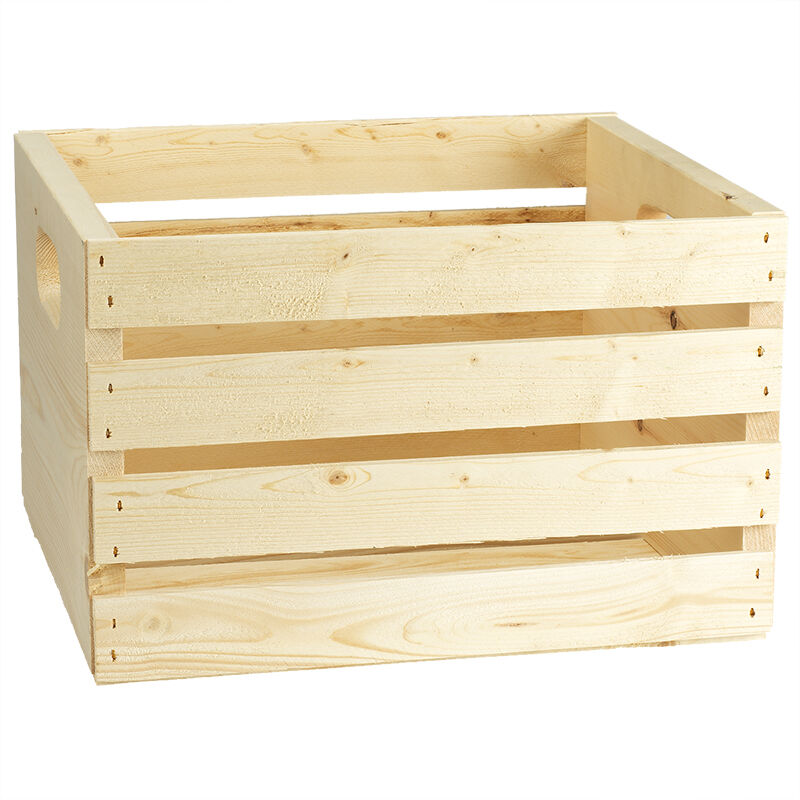 Superior Adwood Pine Record Crate   14inch Part 3
