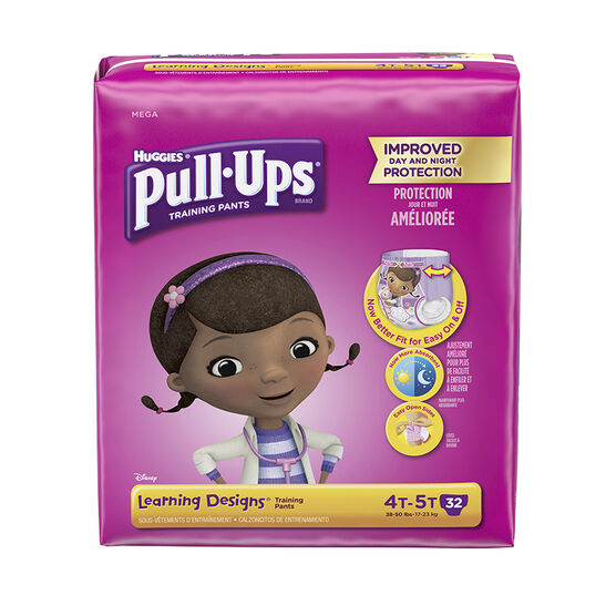 Pull-Ups Learning Designs Training Pants - Girls - Size 4T-5T - 32's