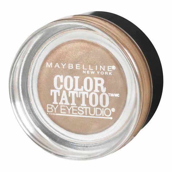 Maybelline Eye Studio Color Tattoo 24HR Cream Gel Eyeshadow - Bad to the Bronze