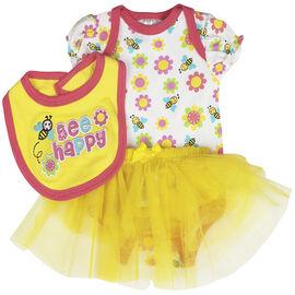 Baby Mode Bee Happy 3-Piece Set - 7672 - Assorted