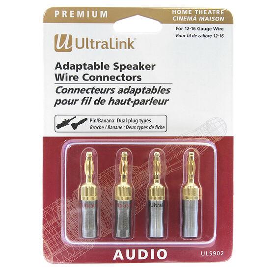 UltraLink Banana Pin Connectors - 2 pairs - ULS902