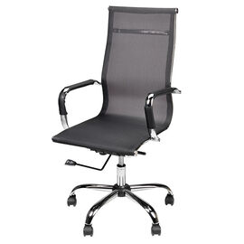London Drugs Mesh High Back Office Chair - Black