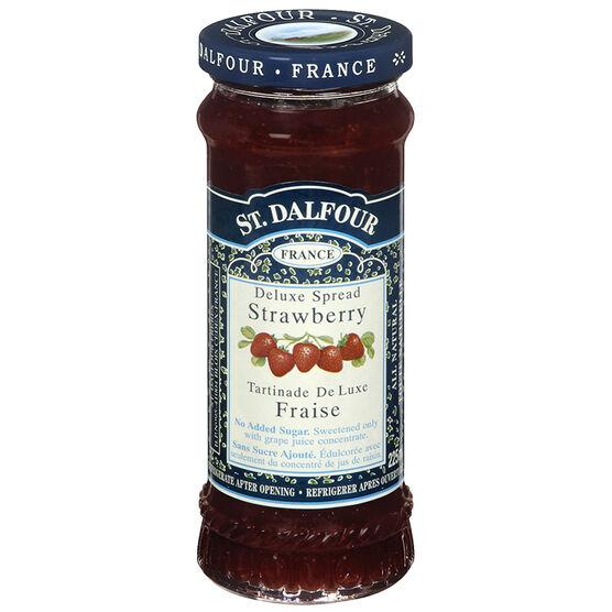 St. Dalfour Deluxe Spread - Strawberry - 225ml