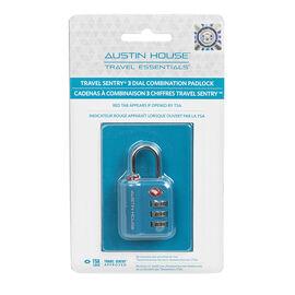 Austin House Combo Lock - Assorted - AH22A101