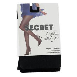 Secret Light Tights - A - Black