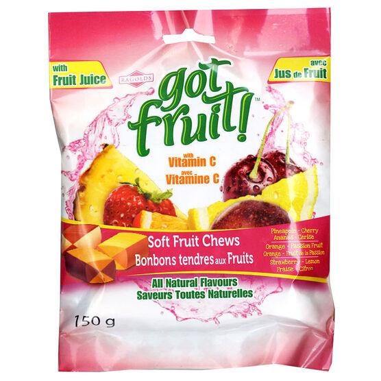 Got Fruit - Soft Fruit Chews - 150g