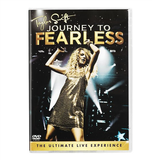 Taylor Swift: Journey To Fearless - DVD