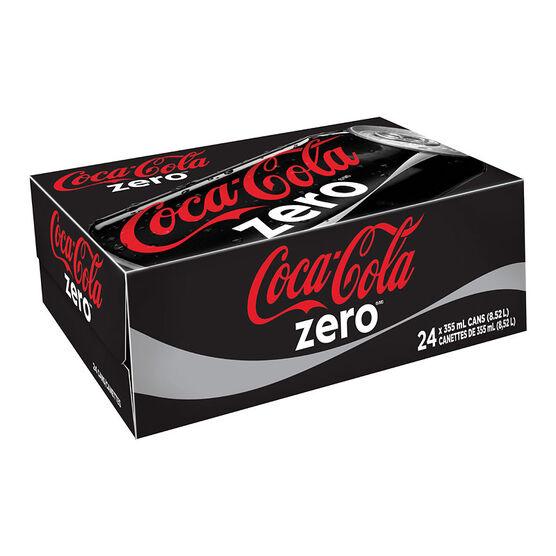 Coke Zero - 24 x 355ml cans