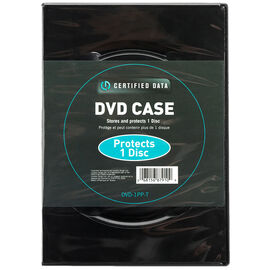 Certified Data Single DVD Case