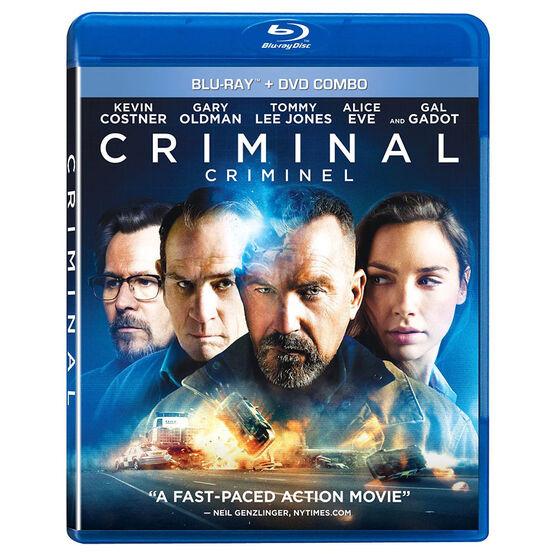 Criminal - Blu-ray