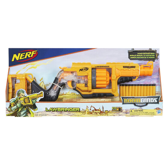Nerf N-Strike Lawbringer Blaster Gun
