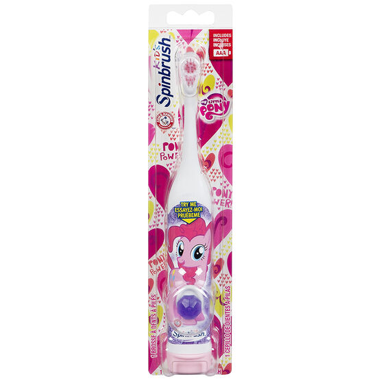Arm & Hammer Spinbrush Battery Operated Toothbrush - My Little Pony