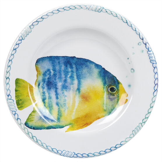 London Drugs Melamine Salad Plate - Fish - 8.6in