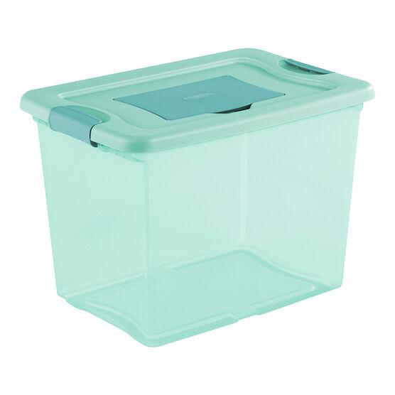 Sterilite Fresh Scent Box - Aqua - 24L