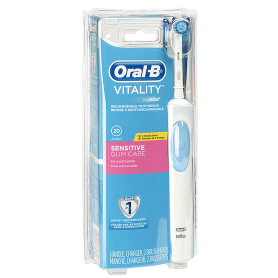 oral b vitality sensitive electric toothbrush london drugs. Black Bedroom Furniture Sets. Home Design Ideas