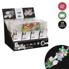 Danson Indoor Battery Operated LED Lights - Assorted - 15s