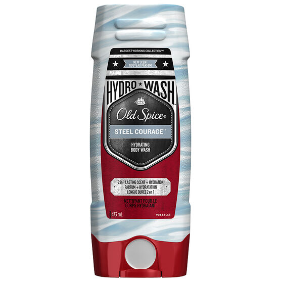 Old Spice Hydro Body Wash - Steel Courage - 473ml