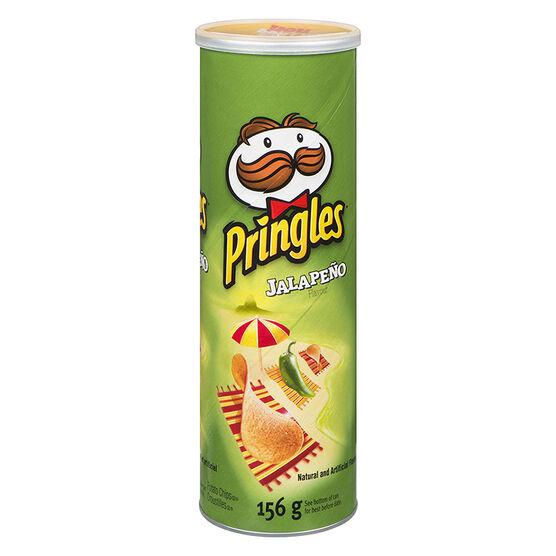 Pringles Potato Chips - Jalapeno - 156g