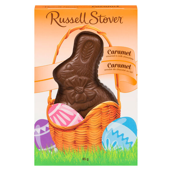 Russell Stover Chocolate Rabbit - Caramel - 85g