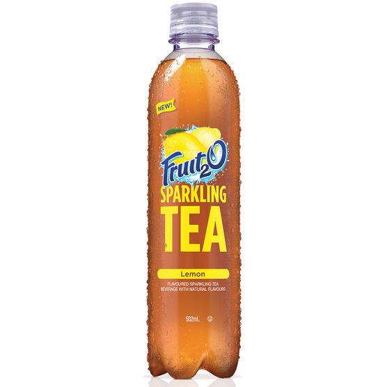 Fruit 2 0 Sparkling Tea - Lemon - 502ml