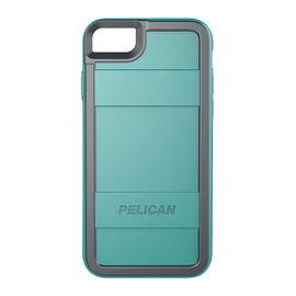 Pelican Pro Case for iPhone 7 - Aqua/Grey - PNIP7PROAQGR