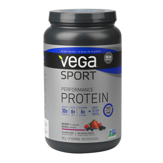 Vega Sport Performance Protein Post Workout - Berry - 801g