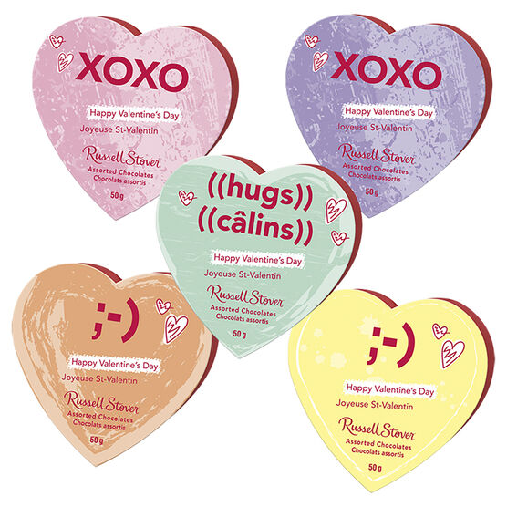 Russell Stover Conversation Heart - 50g