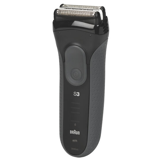 Braun Series 3 ProSkin Rechargeable Electric Shaver - Black - 3050cc