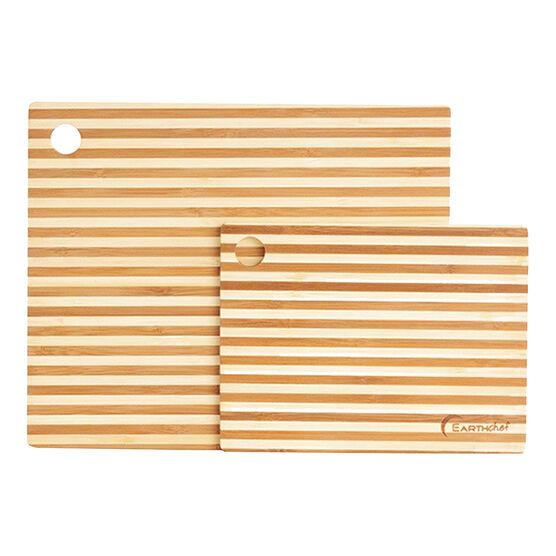 Earthchef Bamboo Prep Board - 2 piece