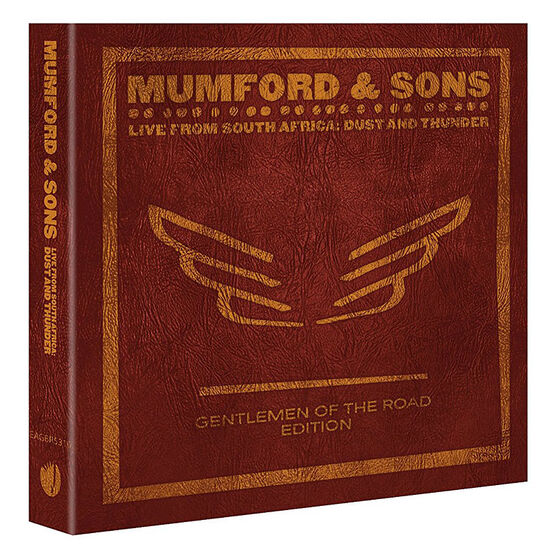 Mumford and Sons - Live from South Africa: Dust and Thunder - 2 DVD + CD