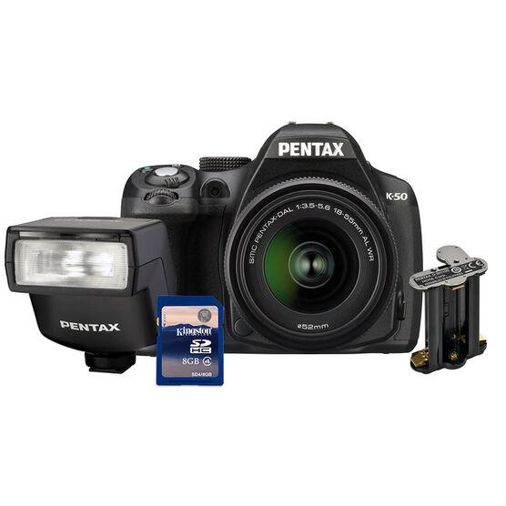 Pentax K-50 Value Kit
