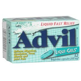 Advil Liqui-Gels - 32's