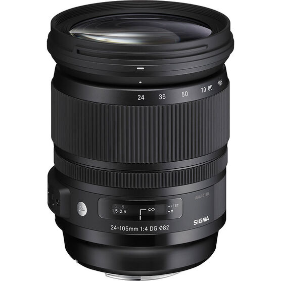 Sigma DG 24-105 F4 Optical Stabilization Lens for Nikon - AOS24105N