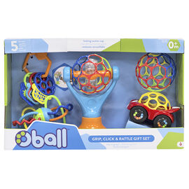 Oball Grip, Click and Rattle Gift Set
