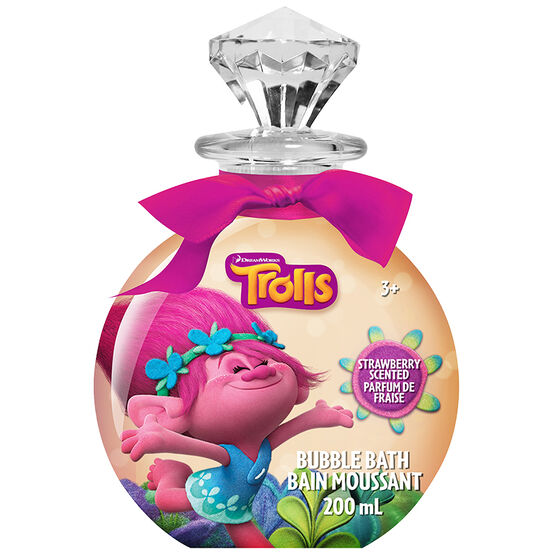 DreamWorks Trolls Gem Bubble Bath - Strawberry - 200ml