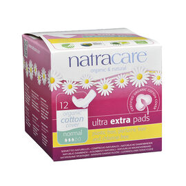 Natracare Ultra Extra Pads - Normal - 12's