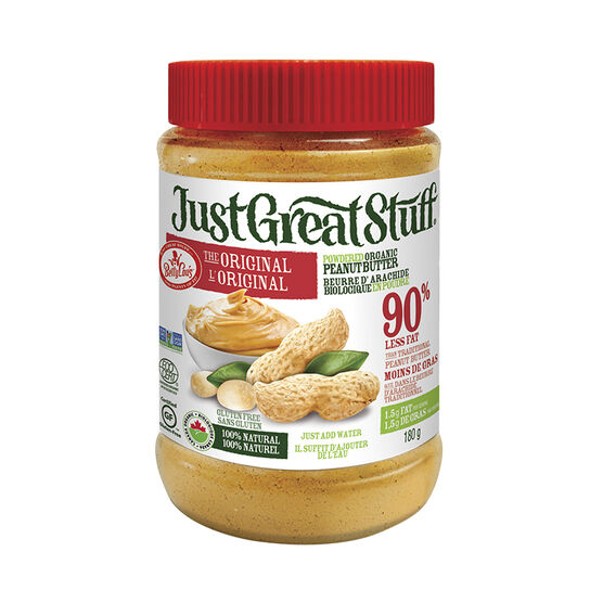 BettyLou's Organic Powdered Peanut Butter - 180g
