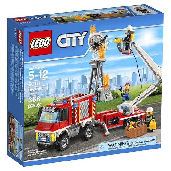 Lego City Fire Utility Truck - 60111
