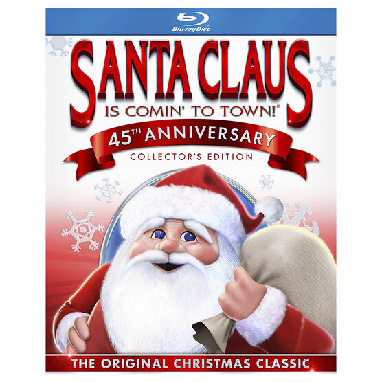 Santa Claus Is Comin' to Town (45th Anniversary Collector's Edition) - Blu-ray