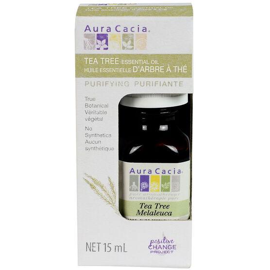 Aura Cacia Essential Oil - Tea Tree - 15ml